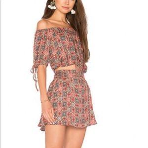 Free People Electric Love skirt